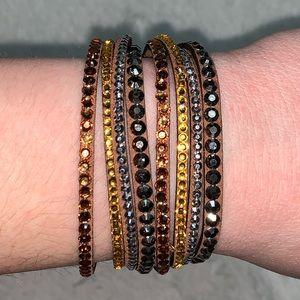 💎BOGO FREE! Multi colored brown/gold bracelet!